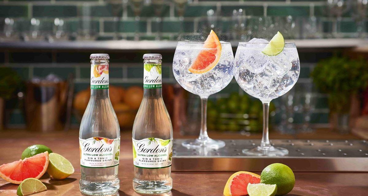 Gordon's brengt alcoholvrije Gin Tonic op de markt