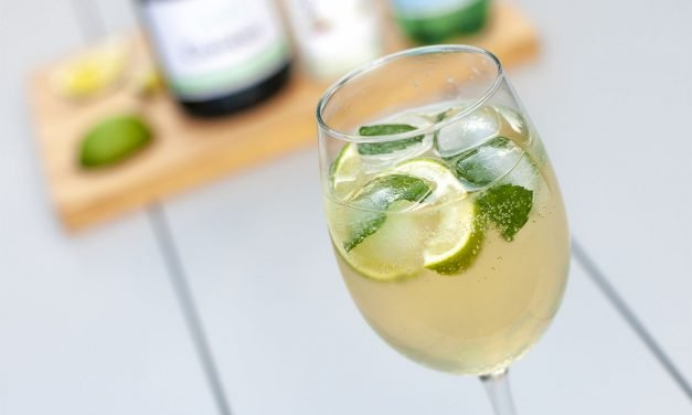 Mocktail: Sparkling Ginger and Lime