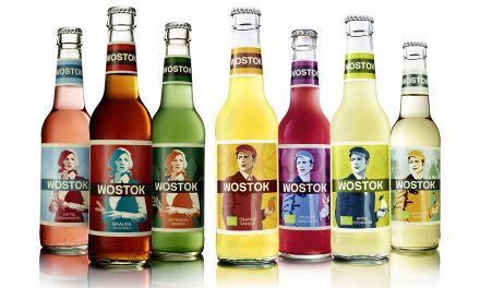 Wostok. A soft drink from the east.