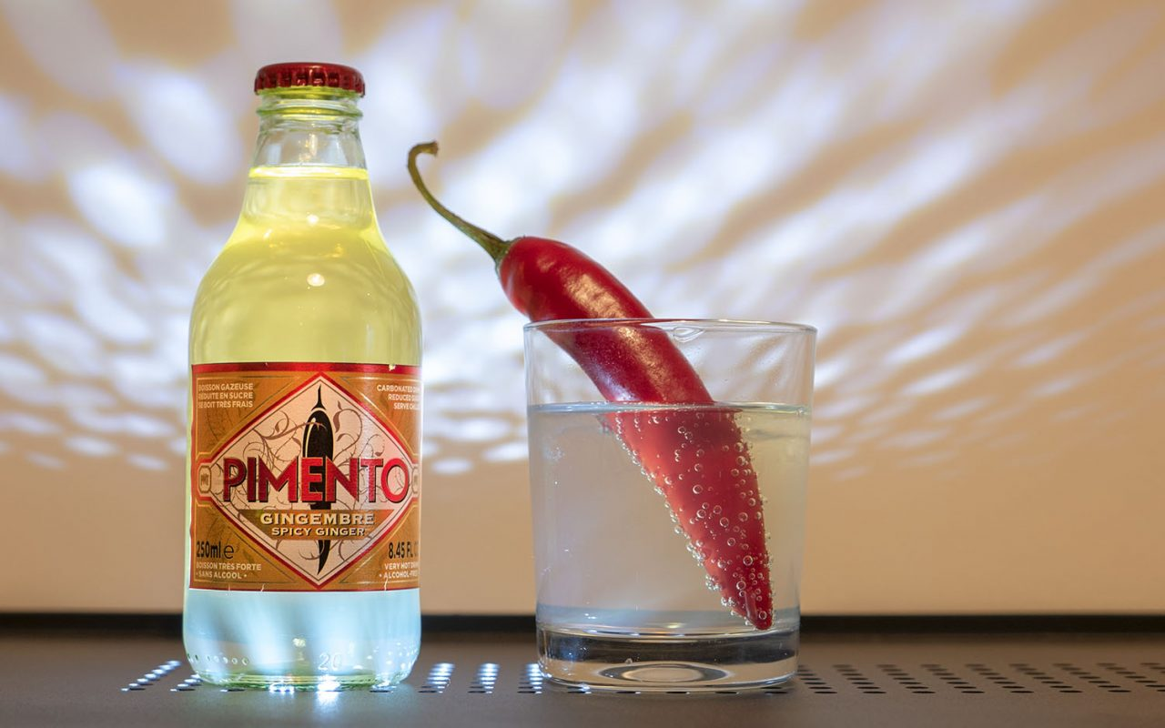 Pimento: a very hot, cold drink