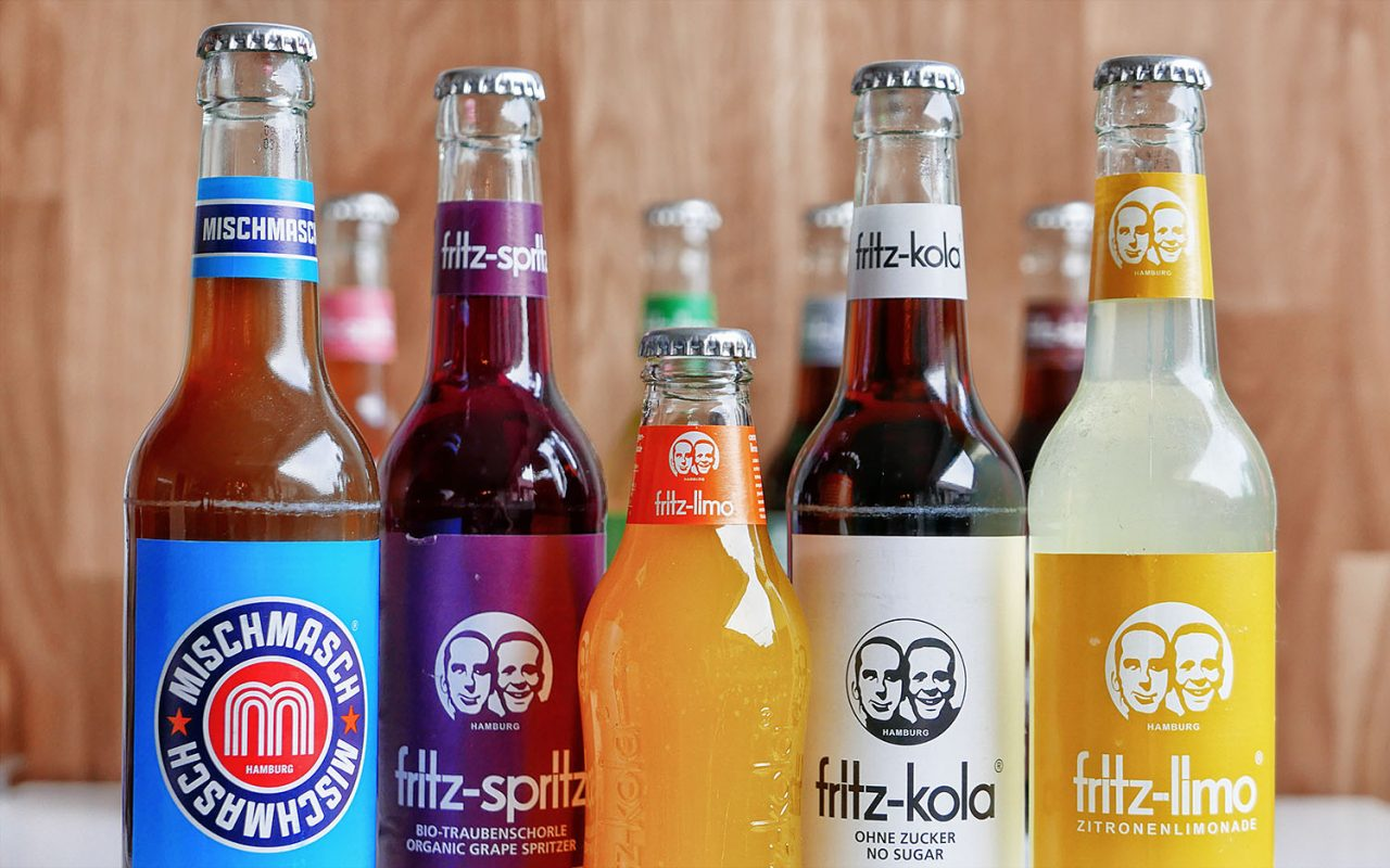 Fritz-kola: with loads of caffeine
