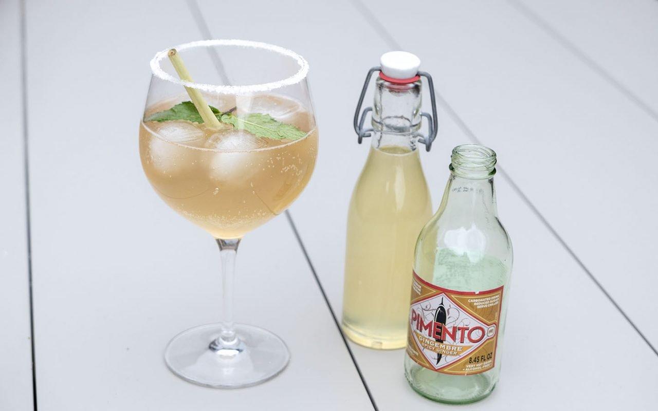 Mocktail: Pimentada (+recept limoensiroop)