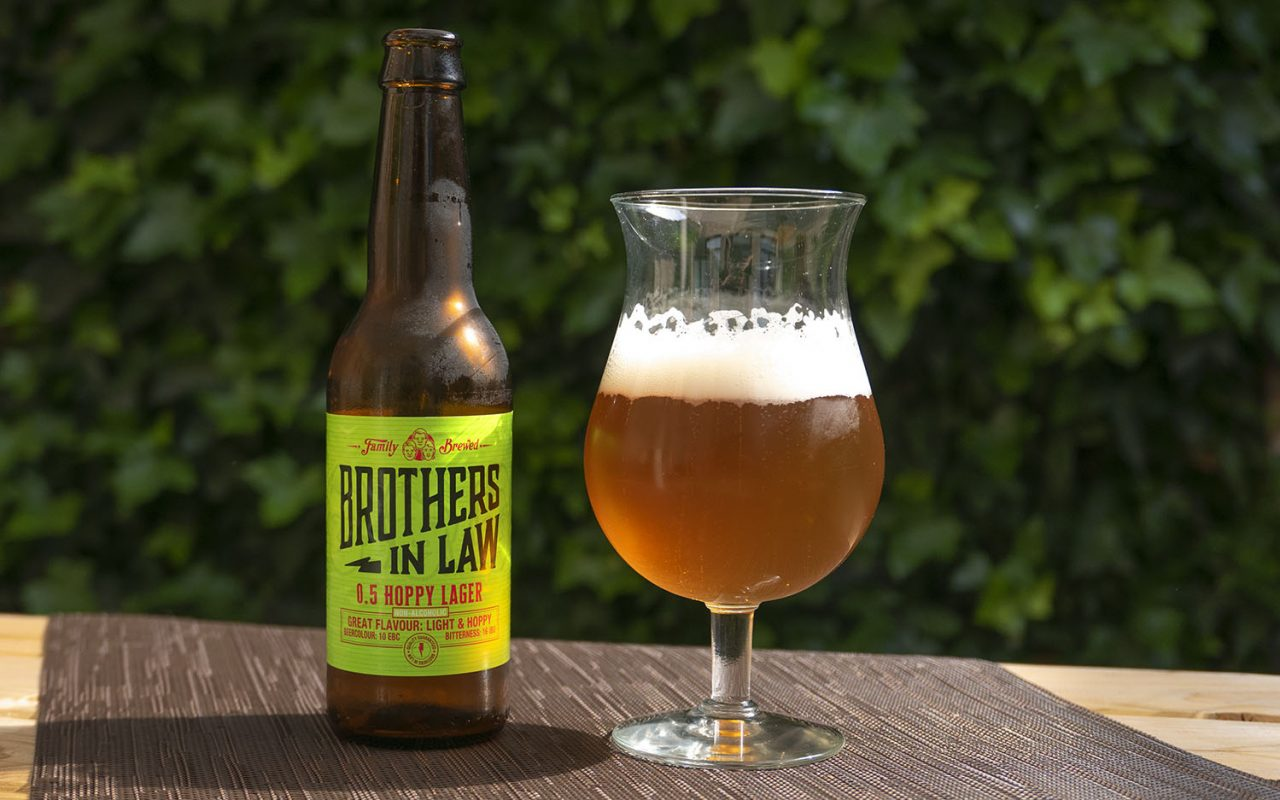 Geproefd! Brothers in Law 0.5 Hoppy Lager