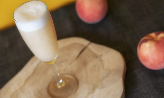 Alcohol-free Bellini