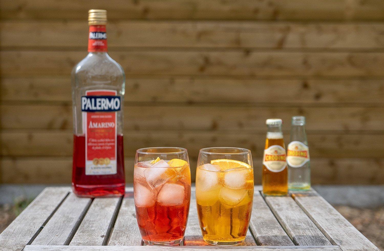 Alcohol-free aperol spritz