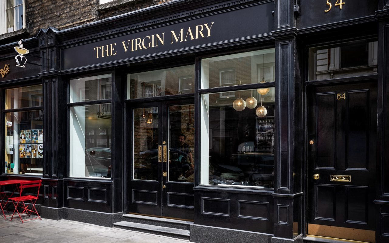 The Virgin Mary Bar, an alcohol-free bar in Dublin.
