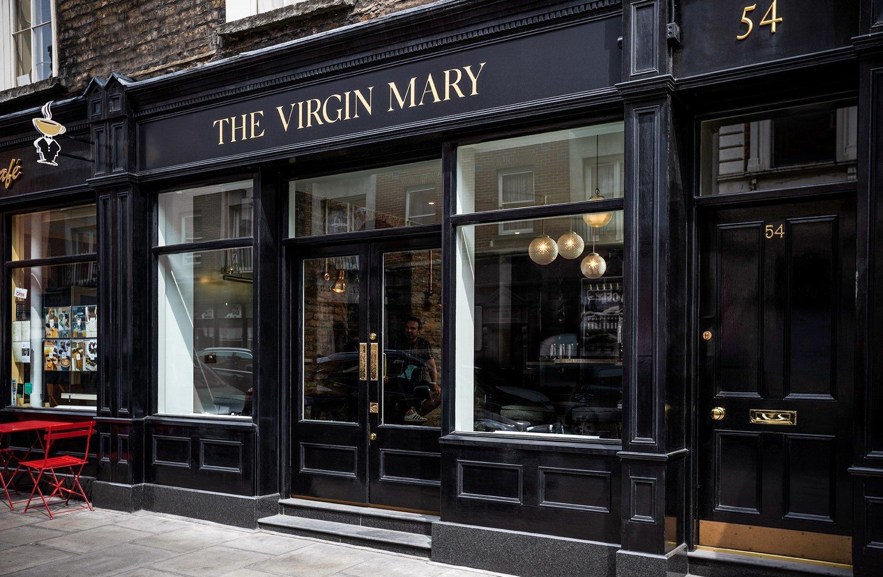 Virgin Mary Bar Outside