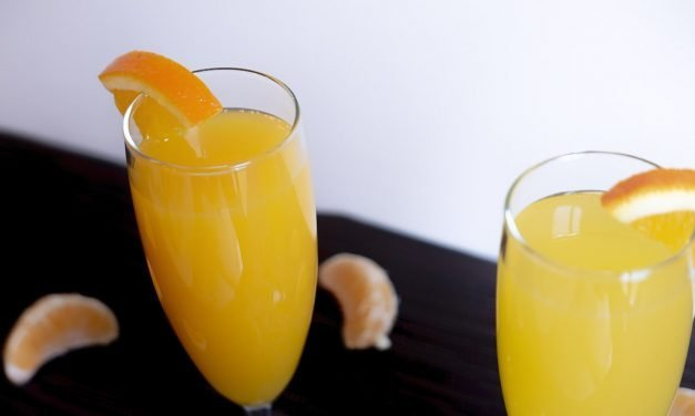 Cocktail: two interpretations of the Mimosa