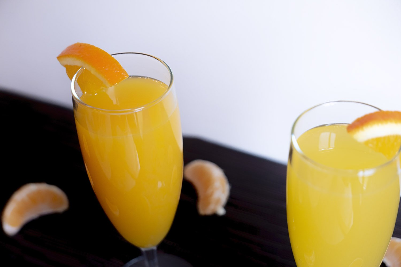 Alcohol-free mimosa