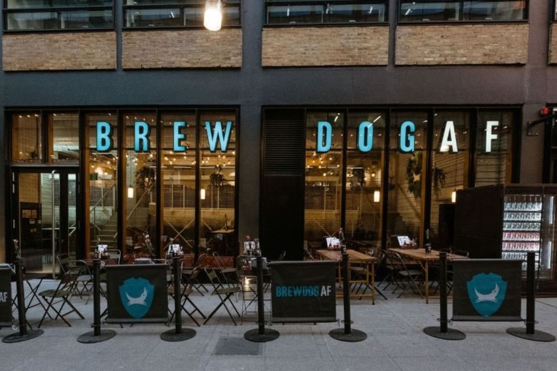 Brewdog opent alcoholvrije bar in Londen