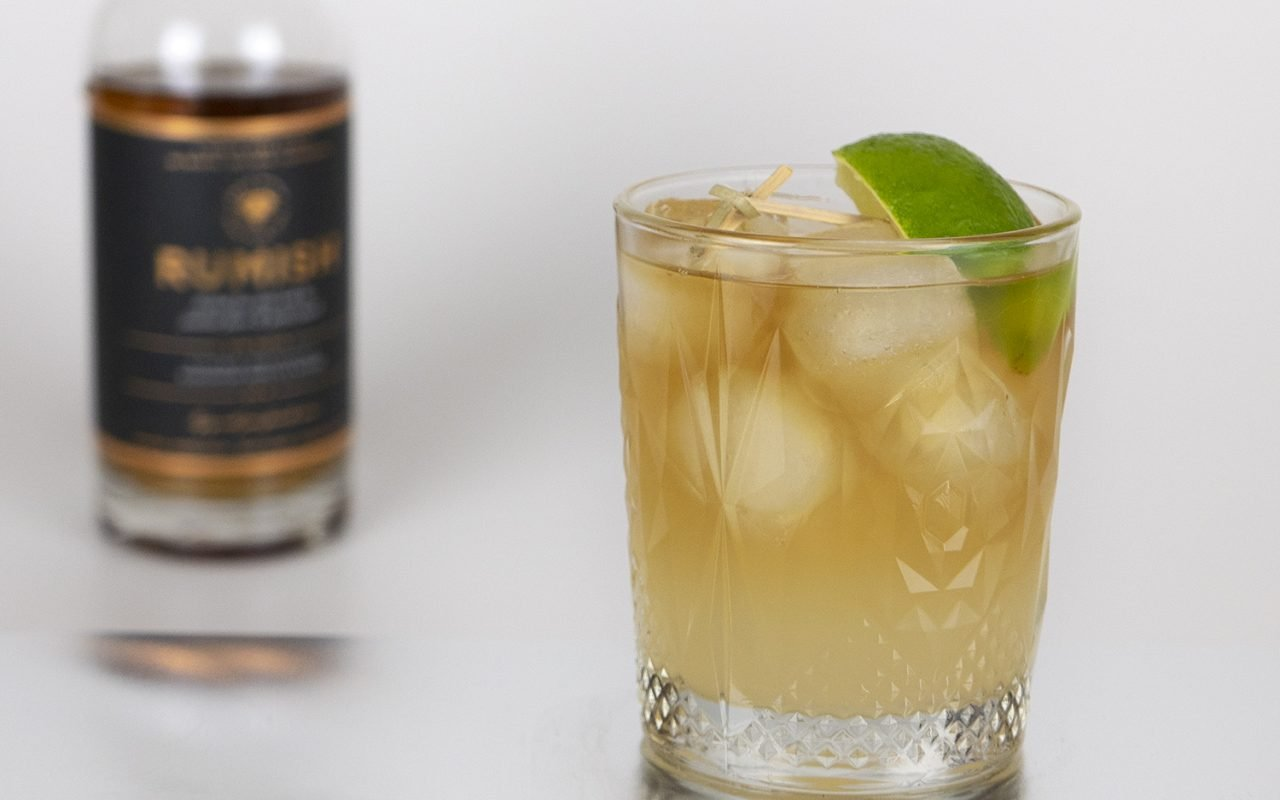 Recept: Dark 'n' Stormy